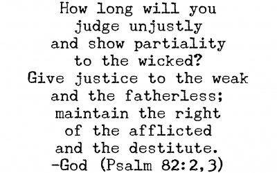 Psalm 82:2,3