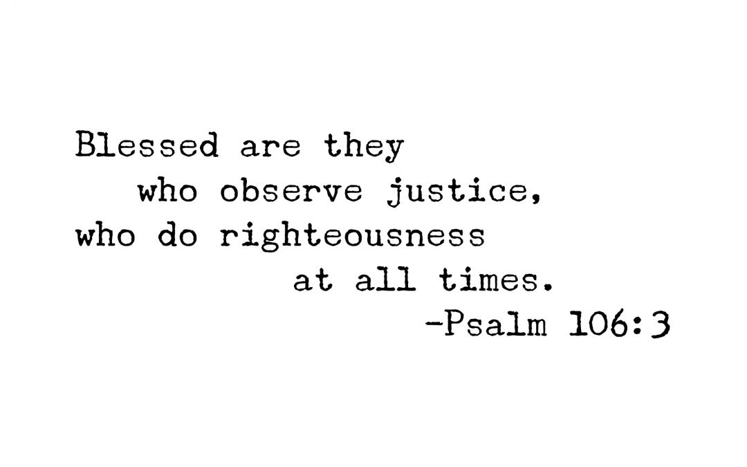 Psalm 106:3